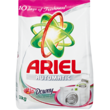 ARIEL AUTO WASHING POWDER TOUCH OF DOWNY 3KG