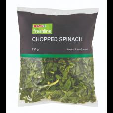 CHOPPED SPINACH - 250GR
