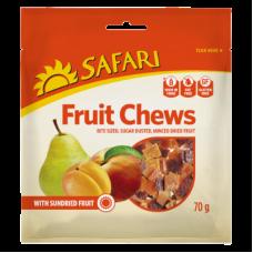 SAFARI FRUIT CHEWS 70GR