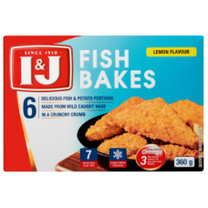 I&J FISH BAKE LEMON 6'S 360GR