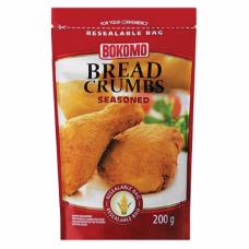 BOKOMO BREAD CRUMBS SEASONED 200GR