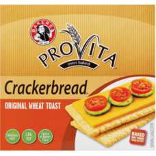 BAKERS CRACKERBREAD ORIGINAL WHEAT TOAST 125GR