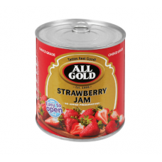 ALL GOLD JAM STRAWBERRY 900GR