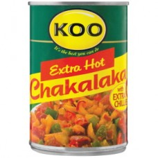 KOO CHAKALAKA HOT & SPICY 410GR