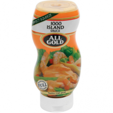 ALL GOLD SAUCE 1000 ISLANDS 500ML