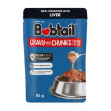 BOBTAIL GRAVY WITH CHUNKS LIVER 85GR