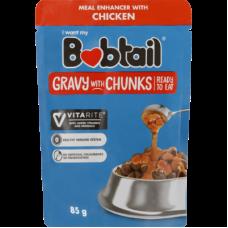 BOBTAIL GRAVY WITH CHUNKS CHICKEN 85GR