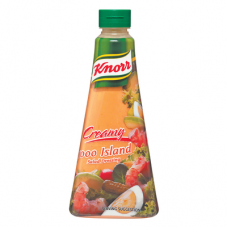 KNORR SALAD DRESSING CREAMY 1000 ISLAND 340ML