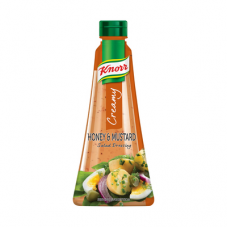 KNORR SALAD DRESSING CREAMY HONEY & MUSTARD 340ML