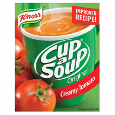 KNORR CUP A SOUP CREAM OF TOMATO 80GR
