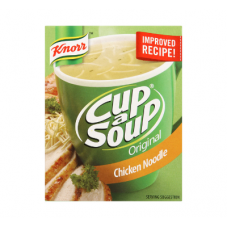 KNORR CUP A SOUP CHICKEN NOODLE 80GR