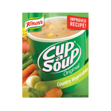 KNORR CUP A SOUP COUNTRY VEGETABLE 80GR