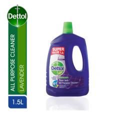DETTOL FLOOR & ALL PURPOSE CLEANER LAVENDER 1.5LT