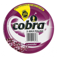 COBRA WAX POLISH LAVENDER 350ML