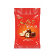 BEACON BAG ANYTIME PEANUTS IN SMOOTH MILK CHOCOLATE 65GR