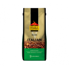 HOUSE OF COFFEES COFFEE BEANS ITALIAN BLEND 250GR