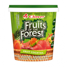 CLOVER FRUIT OF THE FOREST YOGHURT FRUIT COCKTAIL 1KG