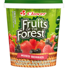 CLOVER FRUIT OF THE FOREST YOGHURT MIXED BERRIES 1KG