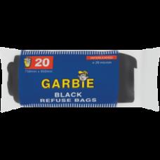 GARBIE BLACK REFUSE BAGS 20'S