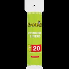 GARBIE SWINGBIN LINERS 20'S