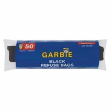 GARBIE BLACK REFUSE BAGS 50'S
