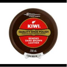 KIWI POLISH PASTE DARK BROWN 200ML