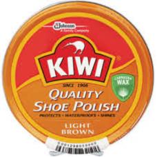 KIWI POLISH PASTE LIGHT BROWN 100ML