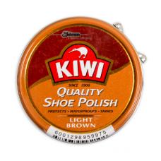KIWI POLISH PASTE LIGHT BROWN 50ML
