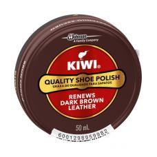 KIWI POLISH PASTE DARK BROWN 50ML
