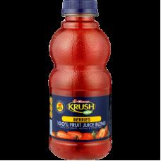 CLOVER KRUSH 100% FRUIT JUICE BLEND BERRIES 500ML