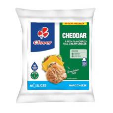 CLOVER CHEESE CHEDDAR SLICES 10'S