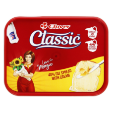 CLOVER CLASSIC 40% FAT SPREAD TUB 500GR