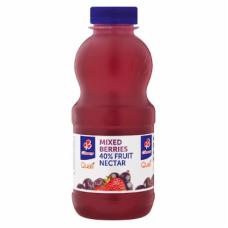 CLOVER FRUIT NECTAR MIXED BERRIES 40% 500ML