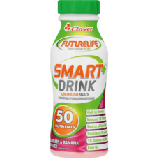 CLOVER FURURELIFE SMART DRINK STRAWBERRY & BANANA 250ML