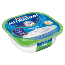 CLOVER AUTHENTIKOS YOGHURT DOUBLE CREAM PLAIN 100GR