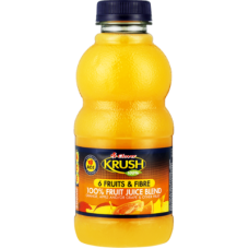 CLOVER KRUSH 100% FRUIT JUICE BLEND 6 FRUITS & FIBRE 500ML