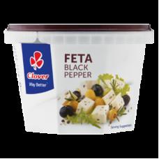 CLOVER FETA CHEESE BLACK PEPPER 200GR