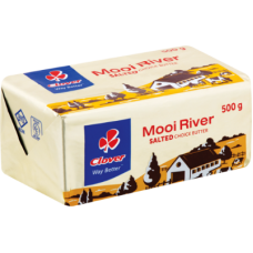 CLOVER MOOI RIVER SALTED BUTTER BRICK 500GR