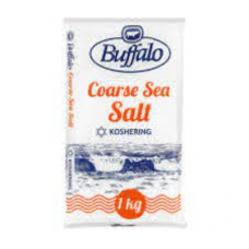 BUFFALO COARSE KOSHER SALT 1KG