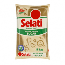 SELATI GOLDEN BROWN SUGAR 5KG