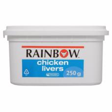 RAINBOW CHICKEN LIVERS 250GR