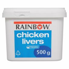 RAINBOW CHICKEN LIVERS 500GR
