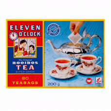 ELEVEN O'CLOCK ROOIBOS TAGLESS TEABAGS 80'S