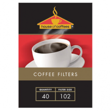 HOUSE OF COFFEES FILTER PAPER 102 40'S