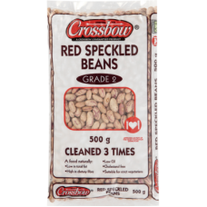 CROSSBOW BEANS RED SPECKLED 500GR