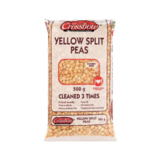 CROSSBOW PEAS YELLOW SPLIT 500GR
