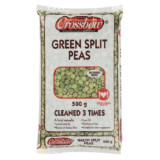 CROSSBOW PEAS GREEN SPLIT 500GR
