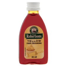 ROBERTSONS COLOURING EGG YELLOW 40ML