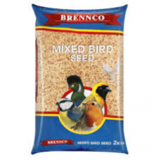 BRENNCO MIXED BIRD SEED 2KG