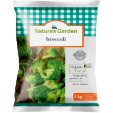 NATURE'S GARDEN BROCCOLI 1KG